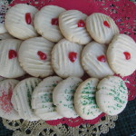 short bread cookies Christmas